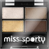 Miss Sporty MS STUDIO RG E/S QUATTRO - 413 100% golden eye look - Lippenpotlood