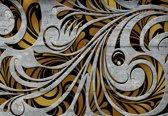 Fotobehang Modern Abstract Design | XXXL - 416cm x 254cm | 130g/m2 Vlies