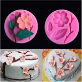Fondant Cherry Blossom Mal - Siliconen Bloem versiering vorm - Fondant / Marsepein / Chocolade / Zeep - Voor decoratie van taart, cupcakes en cake