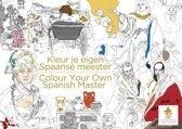 Kleur je eigen Spaanse meester/Colour your own Spanish master