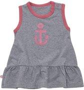 Minymo - baby  jurk - grijs