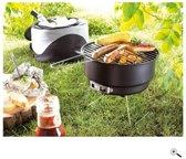Picknick koeltas met barbecue