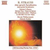 Strauss: Also sprach Zarathustra, etc / Kosler, Slovak PO