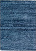 Modern vloerkleed Blauw 67 x 130 cm Astra Samoa