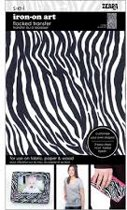 Strijksjabloon Zebra 1 Vel