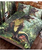 T-Rex Dinosaurus Dekbedovertrek 200x200
