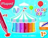 Color'Peps Early Age Wax Jumbo - in kartonnen doos x 12