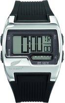 All Blacks 680021 digitaal horloge 40 mm 100 meter zwart/ grijs