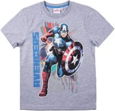Avengers-Assemble-T-shirt-met-korte-mouw-grijs-maat-152