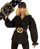 Piratenriem voor dames - Verkleedattribuut