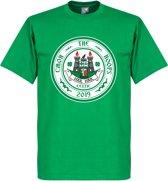 C'mon the Hoops Celtic Logo T-Shirt - Groen - XXL