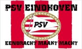 PSV Vlag - Eendracht - Rood