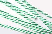 Bindstrips 15,2x0,4cm Papier Wit/Groen gestreept (1000 stuks)