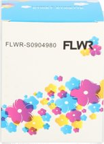 FLWR Dymo EXTRA LARGE SHIPPING LABEL 4XL 104X159MM S0904980 wit Huismerk