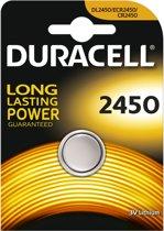 Duracell Lithium knoopcel batterij 2450 3V