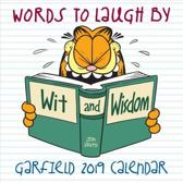 Garfield Words to Laugh By 2019 Calendar