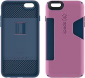 Speck CandyShell Card - Hoesje voor iPhone 6 / 6s Plus - Beaming Orchid Purple / Deep Sea Blue