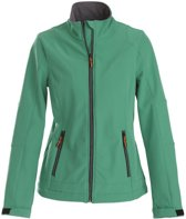 Printer Trial Lady Softshell Jacket Fresh green XL