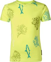 Noppies Jongens T-shirt - Fluor Green -  Maat 86