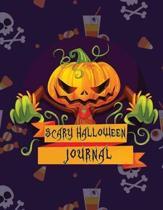 Scary Halloween Journal