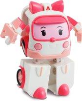 Robocar Poli mini transforming robots -Amber