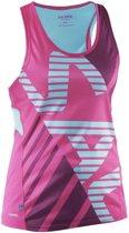 Salming Running Singlet - Hardloophemd - Dames - Roze - Maat XL