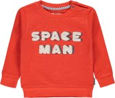Tumble 'N Dry Jongens Sweatshirt Sjef - Orange - Maat 80