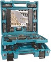 Makita D-37194 Blau/Schwarz Zubehörkoffer 200 Teile