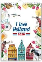 WEEKKALENDER 2020 HOLLAND - FSC MIX CREDIT