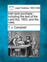 Irish Land Purchase
