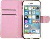 WHITE RHINO ® iPhone 6 / 6s PU Leer Hoesje Roze | iPhone 6 hoes