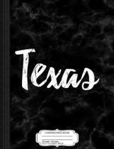 Texas Composition Notebook
