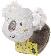 Fehn Rammelaar Met Klittenband Koala 16 Cm Bruin/grijs