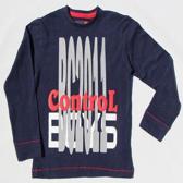 BOYS iN Control Jongen T-shirt - navy - Maat 116