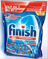 Finish Powerball All-in-1 Tabs - 20 stuks - Vaatwastabletten