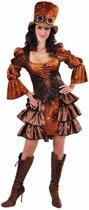 Steampunk Kostuum | Steampunk Stoomkracht Fantasie | Vrouw | Large | Carnaval kostuum | Verkleedkleding