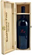 Gianfranco Fino Primitivo di Manduria Es - Rode wijn - Magnum - Rode wijn - Primitivo - 150 cl