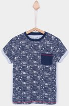 Tiffosi-jongens-t-shirt-Chili-kleur: blauw, wit-maat 152