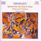 Messiaen: Quartet for the End of Time etc / Amici Ensemble