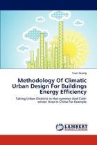 Methodology of Climatic Urban Design for Buildings Energy Efficiency
