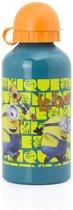 Aluminium fles / bidon 500ml (Groen/Oranje)