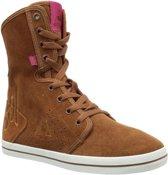 Le Coq Sportif - Dames Sneakers Voya Mid Plus - Bruin - Maat 41