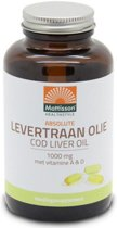 Mattisson Levertraanolie / Codliver Oil 1000 mg met vit. A&D