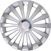 Proplus Wieldoppen Meridian 13 Inch Zilver Set Van 4