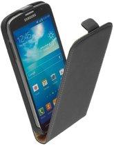 Samsung Galaxy S3 Neo i9300i Lederlook Flip Case hoesje Zwart