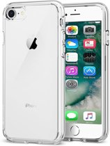 iPhone 6/6s Hoesje Siliconen Case Hoes Cover Dun - Transparant