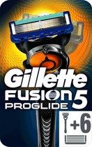 Gillette Fusion Proglide + 6 Scheermesjes