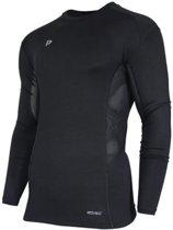 Donnay compressie shirt lange mouw - Thermoshirt - Heren - Maat L - Zwart