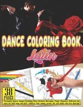Dance Coloring Book Latin