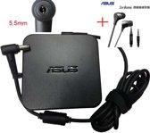 ORIGINEEL ASUS adapter 90W 4,74a 19v 5,5MM incl. ASUS headphone